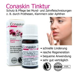 Conaskin Tinktur 5 ml - Wohltuend bei Beschwerden im Mund