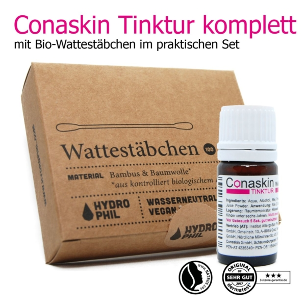Conaskin Tinktur aus neuseeländischem Manuka Honig, Propolis & Aloe-Vera
