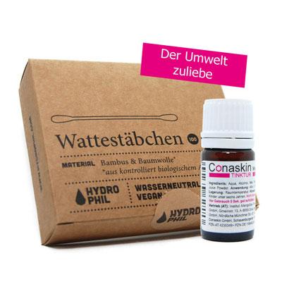 Conaskin 5ml Flasche + Wattestäbchen