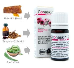 Manuka Honig, Propolis, Aloe Vera, 100% natürliche Inhaltsstoffe, Naturprodukt, Linderung von Mundbeschwerden